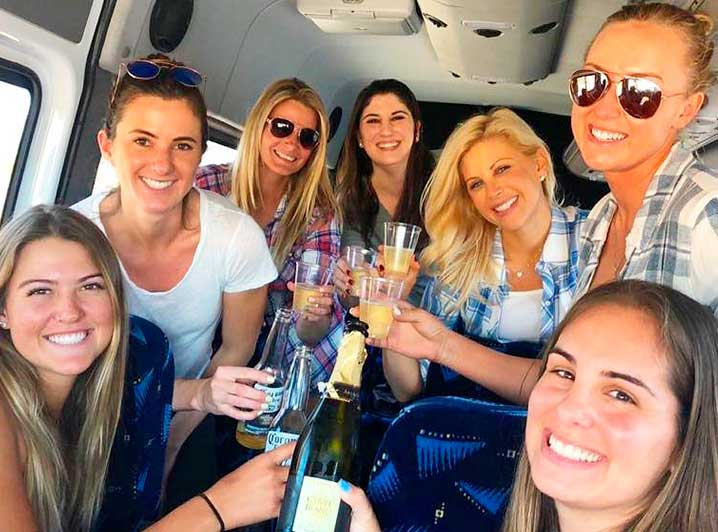 Bachelorette Transportation in Cabo San Lucas